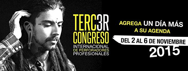 3INTERNATIONAL CONGRESS MEXICO ER LBP 2015 2 AL 6 NOVEMBER Atlixco - Metepec - PUEBLA